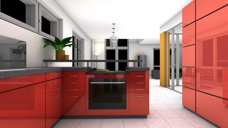 חיפוי זכוכית למטבח – האם ניתן לעשות זאת עוד בזמן תכנון המטבח?